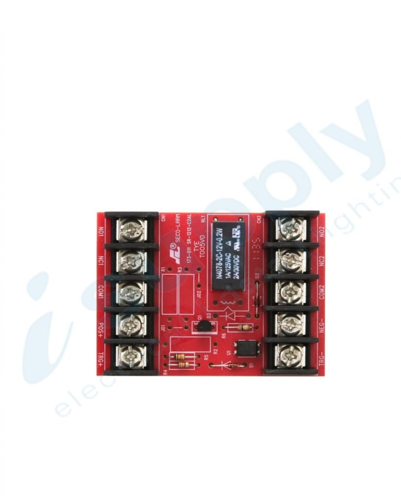 Watchguard 3/24VDC Relay Module (One 2A DPDT Relay) RLM2A-DDL