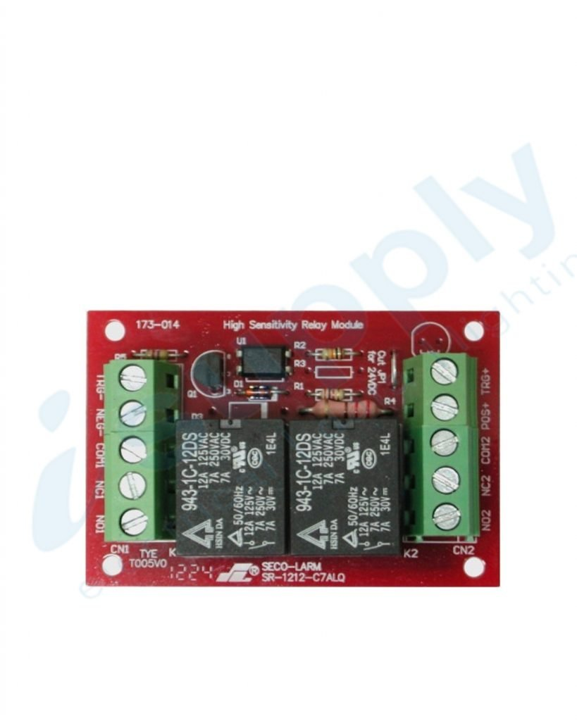 Watchguard 3/24VDC Relay Module (Two 7A SPDT Relays)  RLM7A-SDL