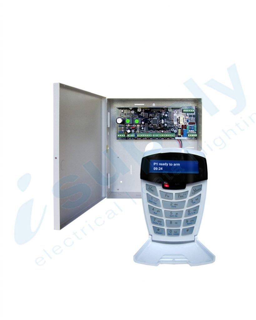 Watchguard Professional 8 Zone Alarm Panel & LCD Keypad – Expandable to 64 Monitored Zones WGAP864