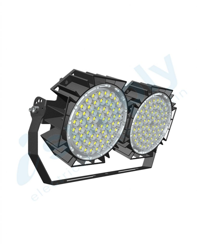 ENSA 240W Adjustable Stadium LED Flood Light (5000K) LFL-G240-C