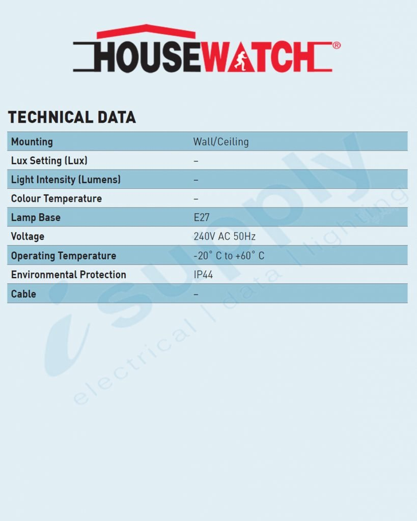 Housewatch Single Pvc Lampholder Pack White E27 55 016 Isupply Lamp Holder 0
