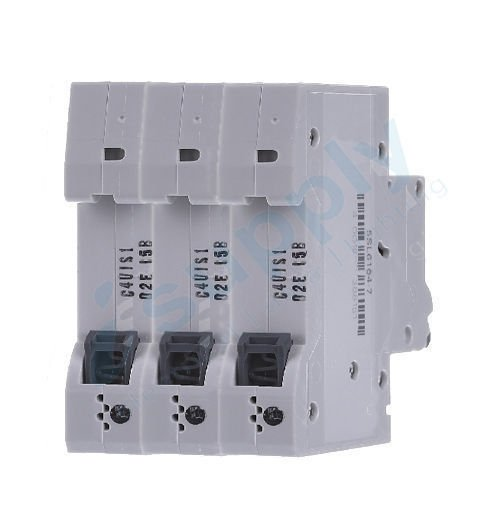 THREE POLE MAIN SWITCH SWITCHES 63A 3 PHASE 415V SWITCHBOARDS ENCLOSURE DIN RAIL