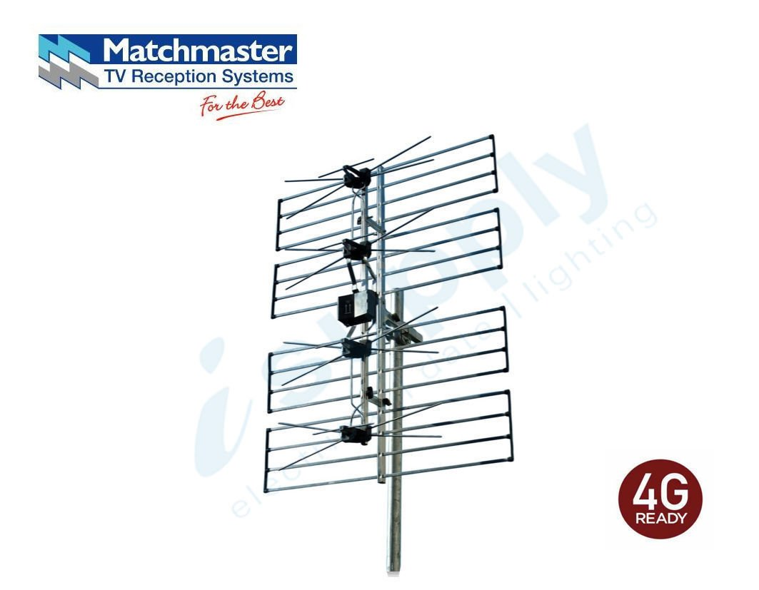 Matchmaster Phased Array F Type Digital Tv Antenna Uhf 28 51 02mm Ee06a Isupply Electrical