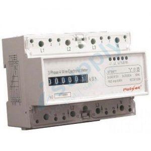 PULSET 3 Pole Surge Protector Removable Din Rail Mounted 40KA voltage up 380V.