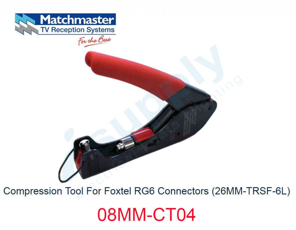 Matchmaster Compression Tool For Foxtel Rg6 And Rg11