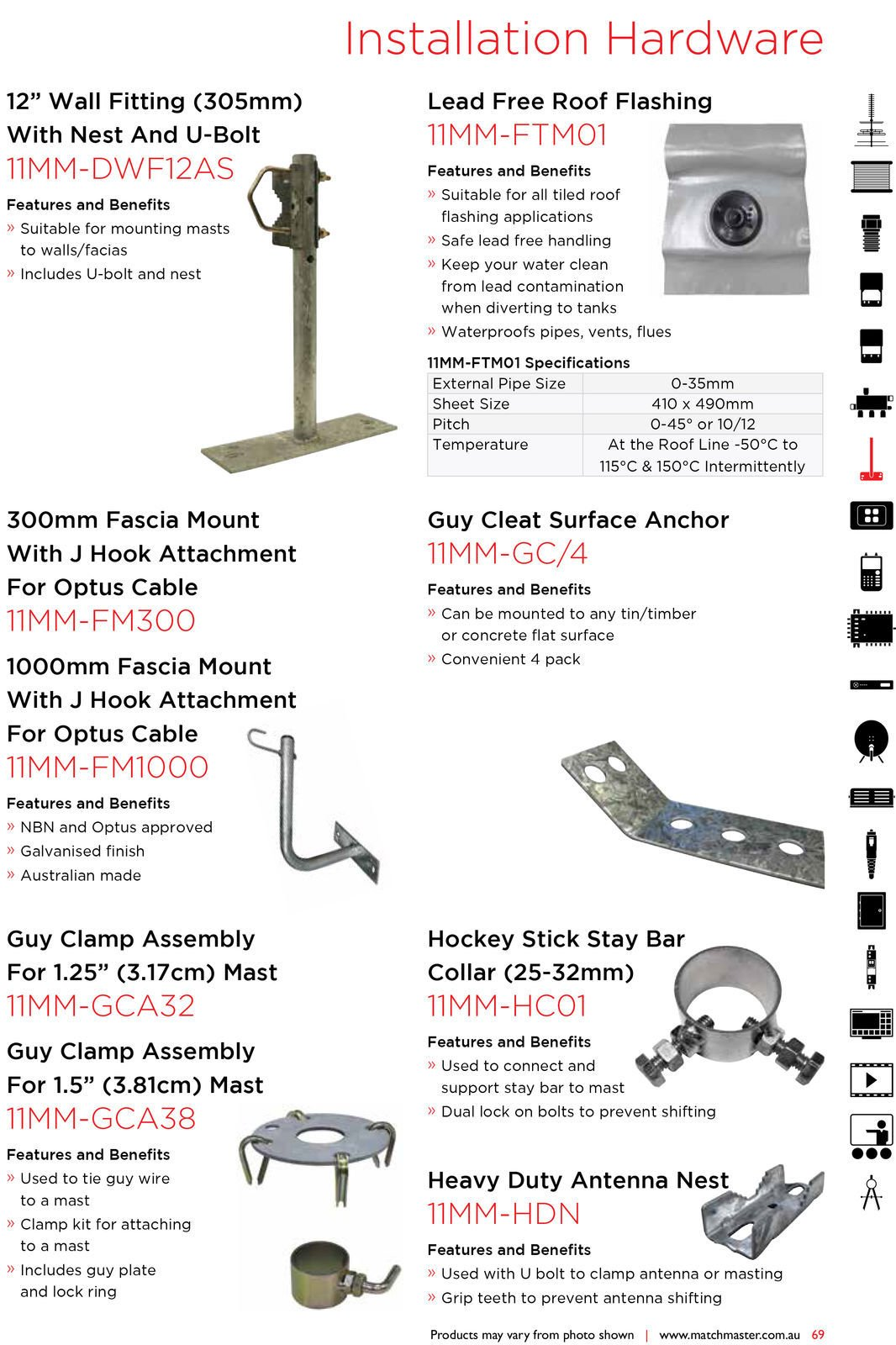 MATCHMASTER-Antenna-Roof-Bracket-With-Cable-Loop-11MM-P-HOOK