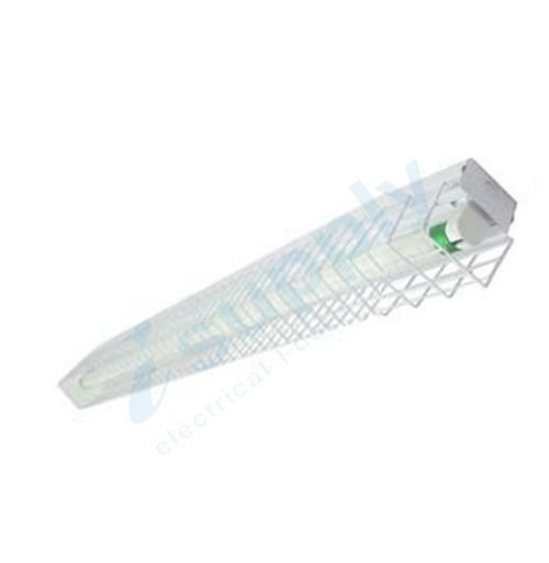 1 x 10W LED Batten with Wire Guard 2ft T8