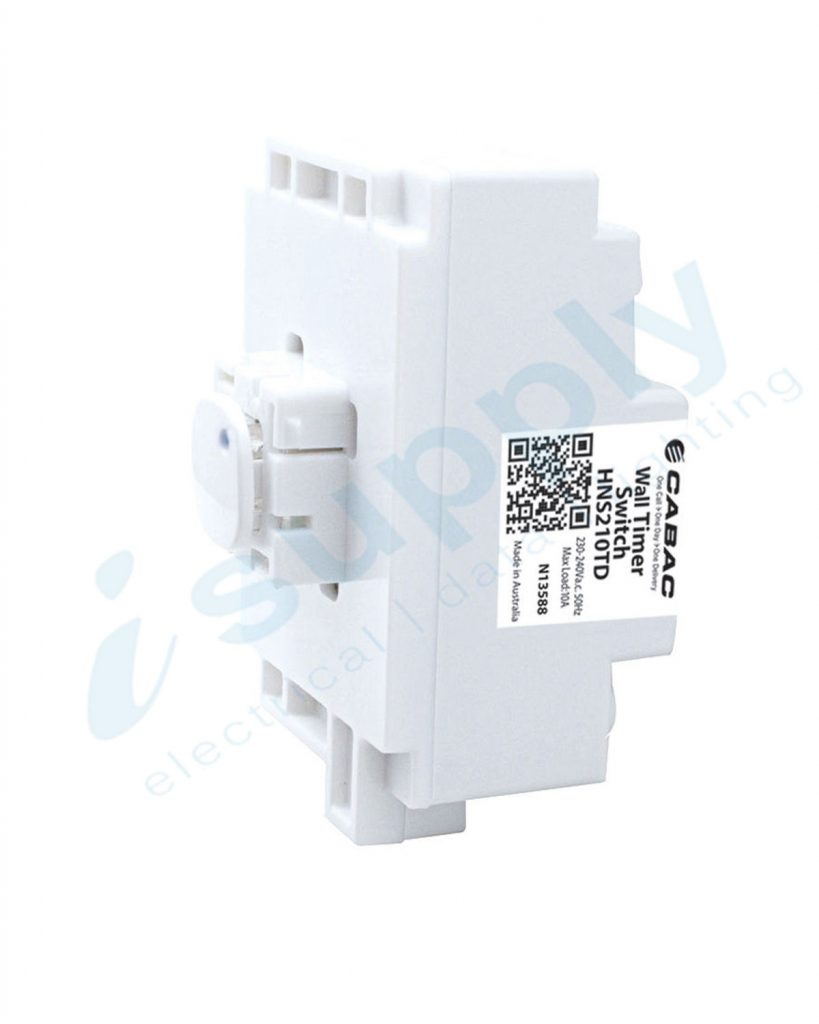 Cabac S Click Advanced Wall Timer Switch 230vac 10a Hns220td Circuit 0