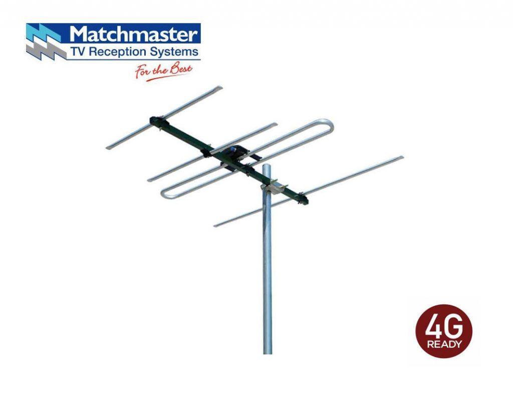 Matchmaster Digital Tv Antenna Vhf 6 12 4 Elements 03mm Dr3004 0